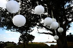 Chinese Balls are one of the most elegant items one can have at your wedding
