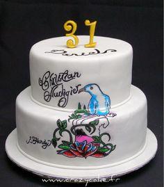 Audigier inspired cake