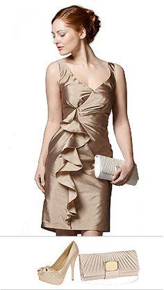 Bridesmaid Dress Gold Debenhams