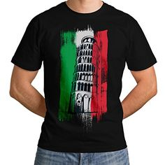 d409de7835ea2e Leaning Tower Pisa Italy City Men NEW Black White Grey Red Royal Blue S-5XL  T-shirt