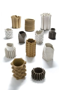 Pressed ceramics by Studio Floris Wubben DAFNE.com