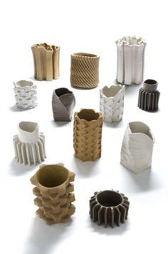 Pressed ceramics by Studio Floris Wubben DAFNE.com