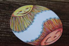 Gift Tags  Packaging Labels  Sunshine  by CindyBlueDesigns on Etsy, $5.25