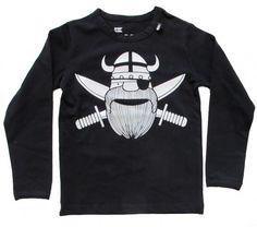 danefae viking pirate baby tee