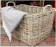 Výsledek obrázku pro proutěné koše Laundry Basket, Java, Kos, Wicker, Organization, Grey, Home Decor, Getting Organized, Gray