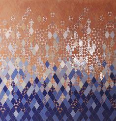 PIKZEL #4 Motif Zellige by MYRIAM MOURABIT© #Pikzel #Pixel #Zellige #Detail #Tiles #Silver #Blue #Stars #Handmade #Design #Lifestyle #Madeinmorocco #AitManos #Terre #Carreaux #Enamale #Motif #Reflexion