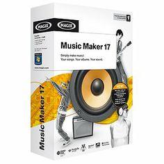 Magix Music Maker 17 New Software Windows 7 XP Vista Create Record Music   eBay $21