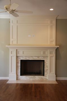 Nice timeless fireplace mantel                                                                                                                                                                                 More