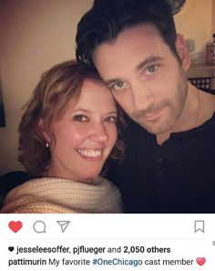 Patti and Colin from her IG