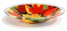 Peggy Karr Glass, serving bowls and trays made in USA