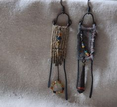 the couple  dangle mismatched but everso matched by infinitystop, €35.00