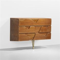 Wall-mounted cabinet from The Royal Hotel, Naples by Gio Ponti