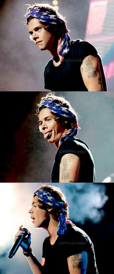 The three sides of Harry. Happy Birthday H!