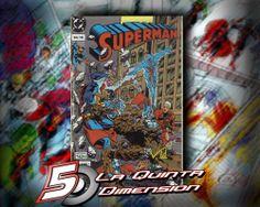 SUPERMAN # 158 EN ESPAÑOL, DE EDITORIAL VID. ¿SUPERMAN VS FANTASTIC FOUR? ORIGEN DEL CYBORG  $ 50.00 Para más información, contáctanos en http://www.facebook.com/la5aDimension