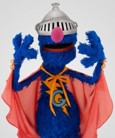 Grover is pretty much a person in my opinion. He is the worst waiter ever and he can sometimes fly. I'd be best friends with Grover.