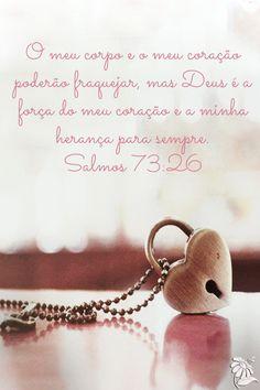 O mundo pode querer me derrubar, mas meu coração estará para sempre em Ti! Por que a cada manhã sua misericórdia se renova! #vempraJesus.