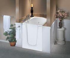 walk in tub compact | ... Walk in Bathtubs, Handicapped Accessible Walk in Tub, Step in Bathtub