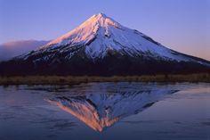 MT TARANAKI IN NEW ZEALAND North Island, S of Auckland