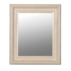 Cream Wooden Frame Wall Mirror £58.00