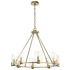 1STOPlighting.com | Signata - Eight Light Chandelier