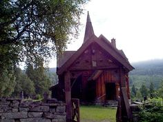 Rollag Churce in Rollag, Norway (where my family name comes from). Can't wait to visit one day!
