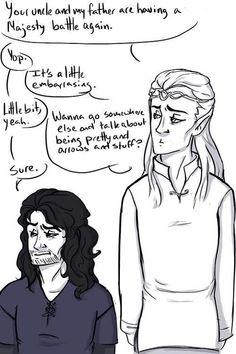 Thorin and Thranduil: Majestic Battle Royale