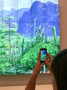 David Hockney's iPad art will unleash your inner artist