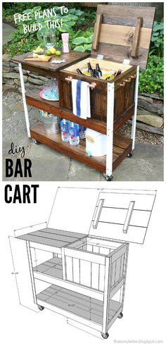 "That's My Letter: ""G"" is for Grill Cart / Bar Cart"