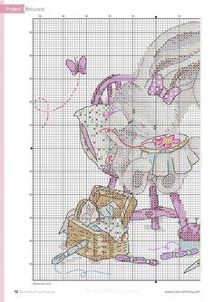 Bothy Threads Bebunni Cross Stitch Kit-Cousu avec amour
