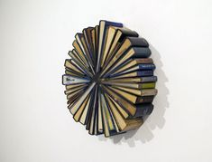 Captivating Book Wheel Sculptures Breath New Life into Discarded Literature - My Modern Met