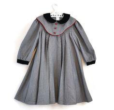 Girls Vintage Dress, Girls Dress, Girls Party Dress,  Vintage Dress by WillowsRoom on Etsy https://www.etsy.com/listing/213295599/girls-vintage-dress-girls-dress-girls