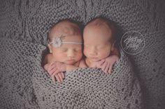 Twin Newborn Photogr