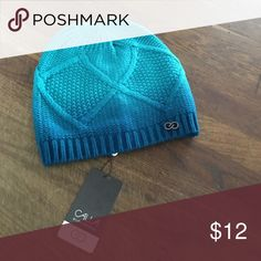 Calia ombre cw beanie teal marine/winterfresh Calia ombre cw beanie teal marine/winterfresh CALIA by Carrie Underwood Accessories Hats