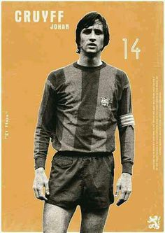 Johan Cruyff of Barcelona & Holland wallpaper.