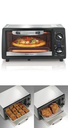 You'll be thrilled with the results, as well as the way these convenient ovens suit your busy lifestyle. Toaster Ovens can help you in countless ways around the kitchen -- all while saving space and time.  #Electric #Convection #Toaster #Oven #Easy #Fast