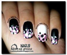 Dotted Nail Art by NailsMyDreams from Nail Art Gallery