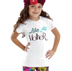 Like Mother Butterfly Girls Shirt by shirtsbynany on Etsy