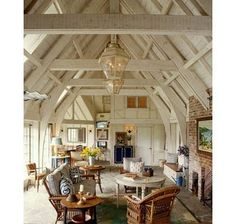 love this big room and the awesome ceiling