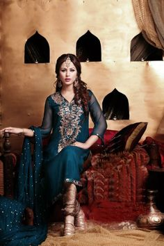 (Sheesh, they have such gorgeous clothing) Latest Pakistani Indian formal Shalwar Kameez with Trouser / Churidar Pajama FW 27