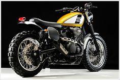 Yamaha Star Bolt Scrambler - Doc's Chops - Pipeburn - Purveyors of Classic Motorcycles, Cafe Racers & Custom motorbikes