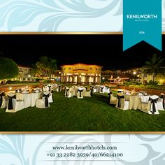 Amidst the emerald décor of nature, under the starlit shelter of sky, let's execute your event with a touch of our warm hospitality.