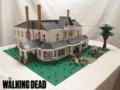 Herhshel's Farmhouse in #LEGO #TheWalkingDead