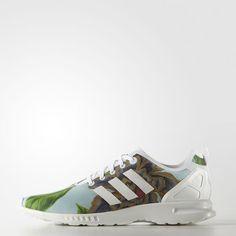 6d7ab1470ddc0 adidas - Zebra Print ZX Flux Smooth Schuh Adidas Zx