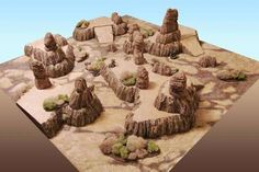 Image result for desert terrain board