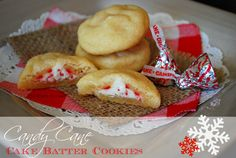 The Kurtz Corner: Candy Cane Cake Batter Cookies