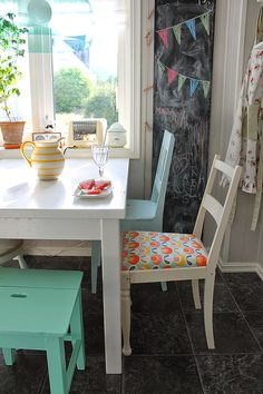La casa de la bahía: la renovación rápida de la silla
