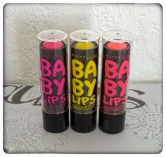 Les Babylips Electro de Maybelline : Top ou flop ? by Madmoizelle Cupcake