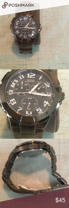 Like new men's Guess watch Like new men's guess watch Guess Accessories Watches