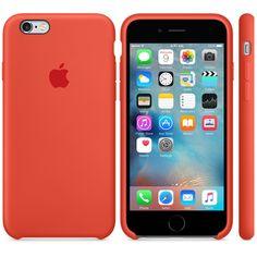 iPhone 6s Silicone Case - Orange - Apple