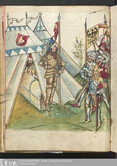 27 [11v] - Ms. germ. qu. 13 - Salman und Morolf - Page - Mittelalterliche Handschriften - Digitale Sammlungen [S.l.], [1479; 15. Jh. 2. Drittel]